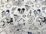 textil pertex Disney Stoffe Mickey Strand 100%
