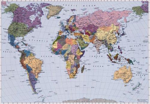 Cartina Muta Mondo Fisica.Migliori Planisfero Gigante 2020 Dopo 203 Ore Di Ricerche E Test