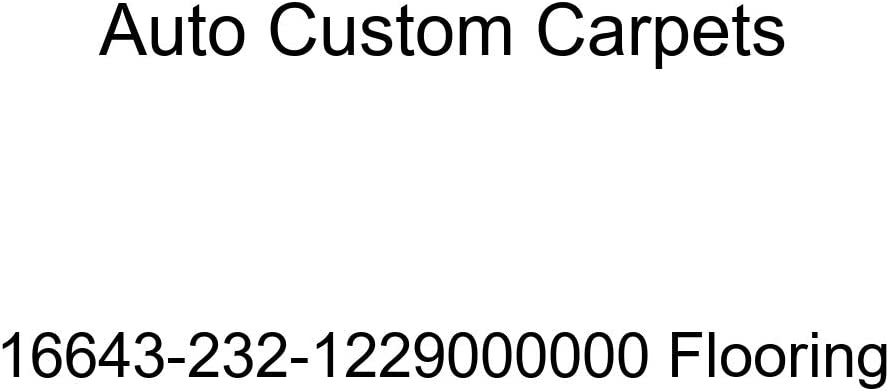 Auto Custom Carpets Flooring 16643-232-1229000000 Max 42% OFF store
