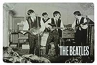 The Beatles CAVERN カブトムシ メタルポスター壁画ショップ看板ショップ看板表示板金属板ブリキ看板情報防水装飾レストラン日本食料品店カフェ旅行用品誕生日新年クリスマスパーティーギフト