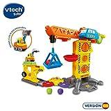 VTech-Grúa interactiva con un Coche Exclusivo Lola la Pala Excavadora (3480-180122)