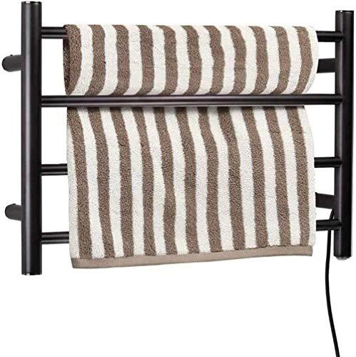 Elektrischer Handtuchhalter aus Aluminium mit 6 Stangen, Handtuchhalter aus Edelstahl, elektrisch beheizbar