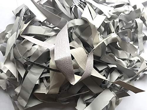 Slate Grey Gray Charcoal Shredded Tissue Paper Shred Hamper Gift Box Basket Filler Fill Wedding Party Decorations