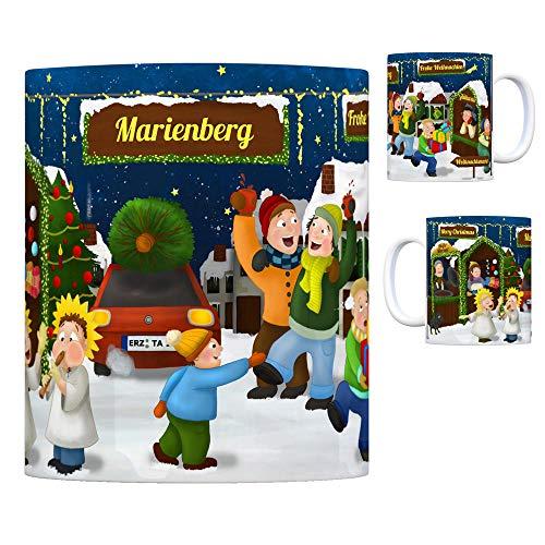 trendaffe - Marienberg Erzgebirge Weihnachtsmarkt Kaffeebecher