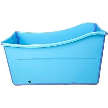 Baby Child Bathtub DGSFES Adult Bathtub Portable Collapsible Bathtub Comfortable Folding Adult Bathtub Household Large Tub Folding Shower Tray 2 Colors,107 * 43 * 63cm-green