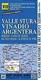 Carta n. 112 Valle Stura, Vinadio, Argentera 1:25.000