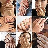 Immagine 1 goldchic jewelry anelli impilabili con