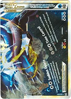 Pokemon Legend HS4 Triumphant Single Card Palkia & Dialga LEGEND Bottom #102 Rare Holo