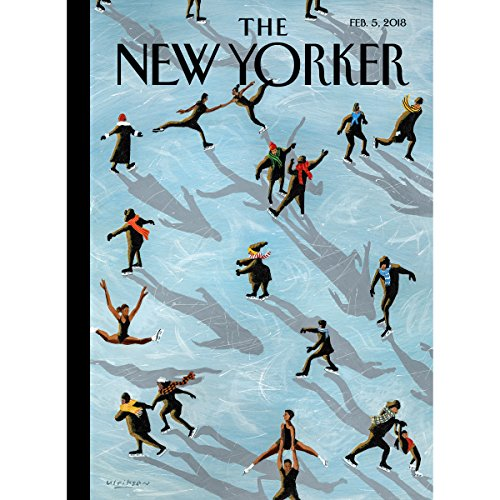 Couverture de The New Yorker, February 5th 2018 (Rachel Aviv, Ian Frazier, Michael Chabon)