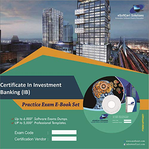 Certificate In Investment Banking (IB) Exam Complete Video Learning Solution (DVD)