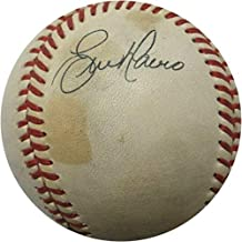 Darryl Strawberry Chris Brown Eric Davis Gerald Young Signed Game Used Baseball - MLB Autographed Game Used Baseballs