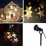 Locisne Indoor/Outdoor Projektor-Lampen-Feiertags-Party Weihnachtsbaum Bühnen Haus Dekoration IP44...