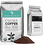 AUSSIE HEALTH CO 419 Roasted Organic Enema Coffee - 1 Pound Bag - Ideal for Gerson Coffee Enemas and Cleanses - 100% USDA Certified Organic, Pre-Ground Beans, Made in Seattle