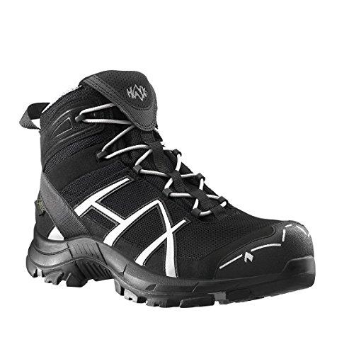 HAIX® Black Eagle Safety 40 Mid black/silver S3, Größe:10 - 45