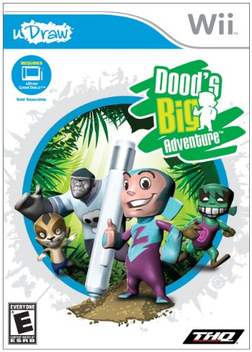 THQ Dood's Big Adventure Basic Nintendo Wii Inglese videogioco