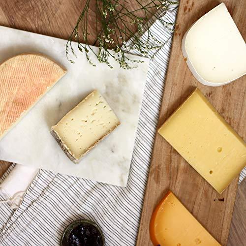 okäse Käseplatte Cheap but fabulous - Viel Käse für wenig Geld, 5 verschiedene Sorten Käse | Präsentkorb | Geschenk