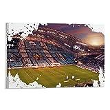 KJHD Stade Velodrome Poster dekorative Malerei Leinwand