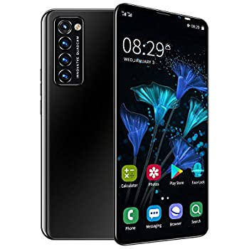 Smartphones Tzp- Rino6 Pro Unlocked Cell Phones 5.8  HD Display 256GB+6GB RAM Face ID Smart Phone 5G LTE GSM 4800 mAh Battery Dual Card Android 10.0