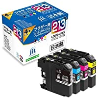 ジット リサイクルインクカートリッジ ブラザーLC213-4PK互換 JIT-B2134P ×5 セット