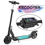 MARKBOARD Elektro Scooter Faltbar City Roller Elektroroller 7,5 Ah Langlebig Akku, 350W bis 30 Km/h 8 Zoll Fahrzeug Klappbar Elektroscooter E Roller Scooter