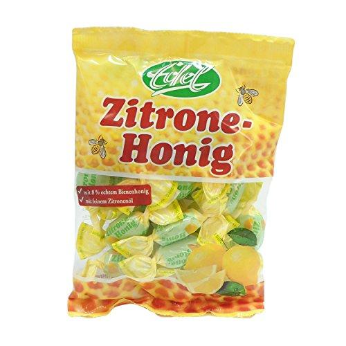 Zitrone Honig gefüllt 100 g Beutel Edel-Bonbon