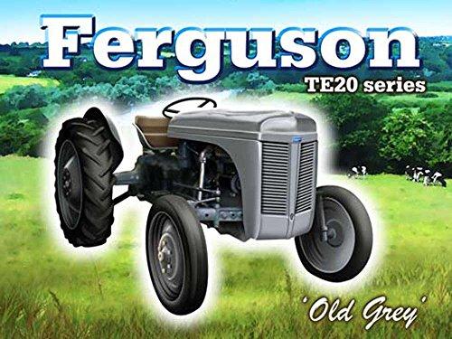Vintage Transport - Ferguson TE 20 series Blechschilder Nostalgie - Grösse 20x15 cm