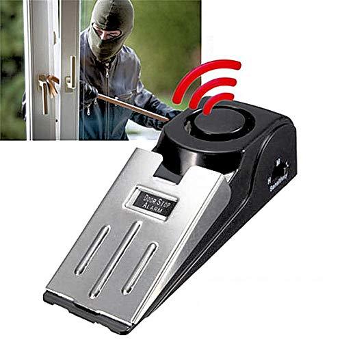 2 x Sin instalación de alarmas para ventanas y puertas – casa simple y eficiente, garaje, sistema de seguridad del hogar con alarma. Protección extraíble, simple y conveniente para tu hogar.