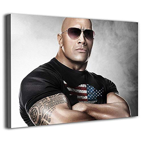 DRAGON VINES cave Painting Wall Art Canvas Art Posters and Wall Art Pictures Peel and Stick Wallpaper Dwayne Johnson Champion of The World Wrestling Federation Bedroom Living 28x20inch