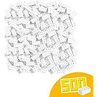 Blox - 500 bloques a granel, color blanco (Simba 4118930) , color/modelo surtido