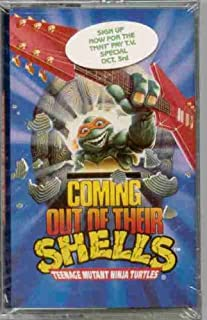 Teenage Mutant Ninja Turtles ~ Coming Out Of Their Shells (Original 1990 MCA Records CASSETTE Tape NEW Factory Sealed in the Original Shrinkwrap With HYPE Sticker ~ Features 10 Tracks ~ See Seller's Description For Track Listing)