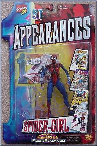 el estilo clásico Marvel Comics  1st Appearances   Spider-Girl Spider-Girl Spider-Girl action figure by Toy Biz  para mayoristas