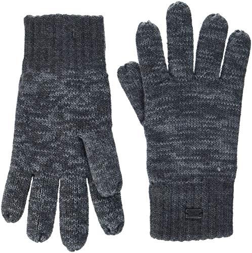 camel active Herren 408150/8G15 Handschuhe, Grau (Grey Melange 6), Large