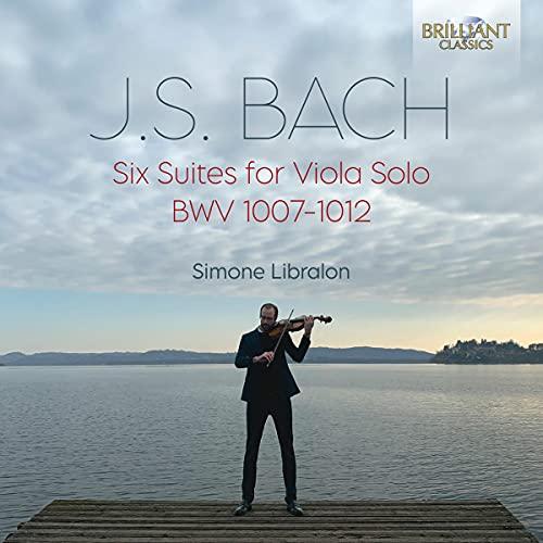 Bach : Six Suites pour alto seul. Libralon.