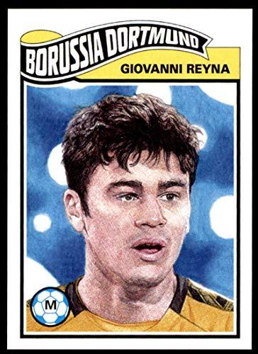 Soccer Pro 2020 Topps Living Set UEFA Champions League #180 Giovanni Reyna