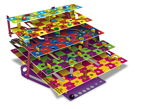 The Happy Puzzle Company WHISNL Multi-Level Snakes & Ladders The Classic Game With A Twist