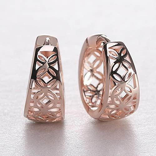 SENZHILINLIGHT Boucles d'oreilles élégantes pour femme - Bijoux tendance - Cadeau de Saint-Valentin pour femme