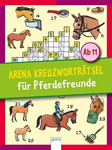 Arena Kreuzworträtsel für Pferdefreunde: Rate dich schlau