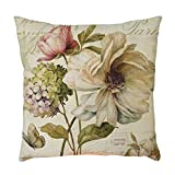 Vovotrade Dekorative Vintage Blumen Sofa Kissenbezug Dekokissen Bezug Kopfkissenhülle Geschenk Haus...