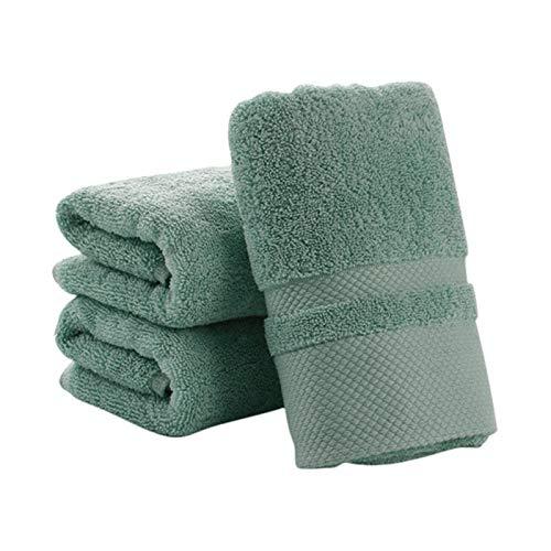XXXG Nuevo baño de Secado Absorbente Adulto Toallas de Cabello Toallitas de Microfibra Swimweet Showere Shower Toalla de baño 34 * 74cm 0103 (Color : Emerald Green)