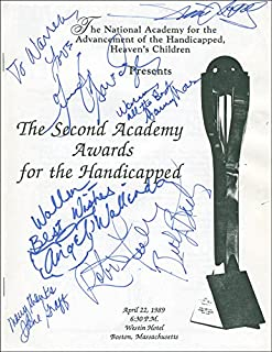 Robert Fuller - Inscribed Program Signed Circa 1989 with co-signers