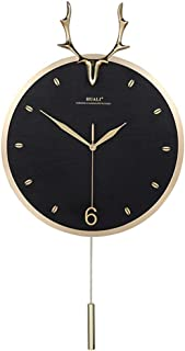 Zacheril Reloj De Pared De Números Reloj Creativo Reloj de Pared Inicio silenciosa for no Hacer tictac del Reloj de Cuarzo...