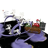 Lovepop Disney's Tim Burton's The Nightmare Before Christmas Santa Jack Pop Up Card - 3D Card, Christmas Cards, Pop Up Christmas Cards, Disney Christmas Card, Christmas Card for Kids
