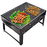 Supreme Folding Portable Charcoal BBQ Barbecue Grill Broiler
