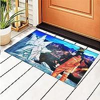 Area Rugs 3D Digital Print Naruto Graphic Carpet for Sofa Mat Door Mat Kitchen Bedroom Family Play Game Non-Slip Mats Room Bedroom Hall Study Room