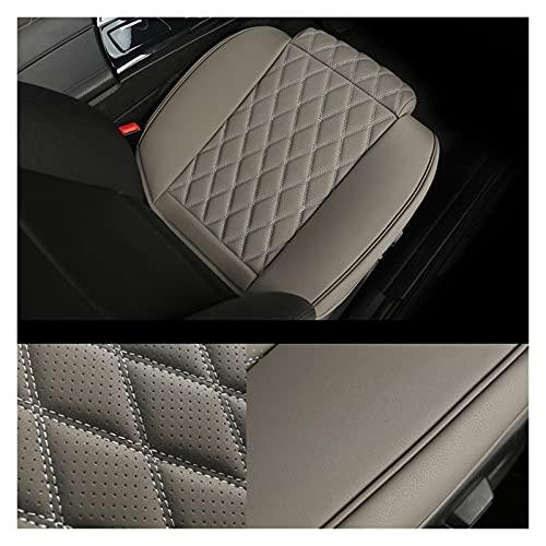 XIAOPING Asiento de Coche Cojín Asiento Protector Mats Automóviles Silla Protector Car Van Auto Vehículo Asiento Cojines Protector Asiento (Color Name : Light Grey)