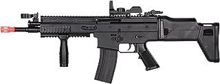 UKARMS MK16 Spring Airsoft Rifle Gun FPS 335 w/Folding Rear Stock