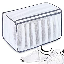 powerful Bagale shoes wash bag for sneakers, sneakers, canvas shoes, etc. Soft mesh shoe protection …