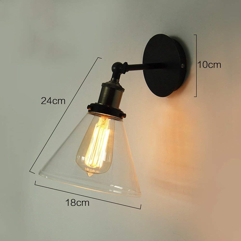 MDD Licht, Retro-Stil Wand, einfache kreative Beleuchtung für Cafe Bar Wohnzimmer mit 4 Arten gesund und umweltfreundlich Schützen Sie die Augen,1001