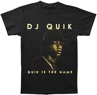 DJ Quik Men's Quik is The Name T-Shirt Black