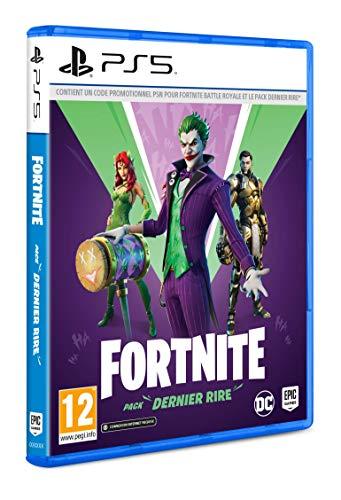 Fortnite : Pack Dernier Rire (PS5) – Code In Box